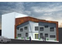 Selçukbey'e modern hizmet binası