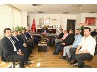 ASKON Mersin Şubesi'nden AK Parti'ye ziyaret