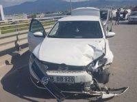 Akil Gençler Platformu Genel Başkanı Ateş, Kocaeli'de kaza geçirdi