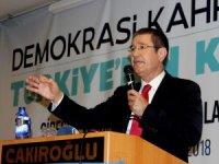 """Milli Savunma Bakanı Canikli: """"Yeniden bir düğün, bayrama gidiliyor 24 Haziran'da"""""""
