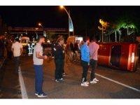 Karşı şeride geçti 3 otomobile çarptı: 1 ölü, 3 yaralı