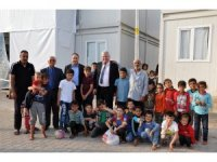 """Tümer: """"Sığınmacıların huzurlu bir ortamda dönmelerini umut ediyoruz"""""""