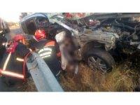 Silivri'de feci kaza: 1 ölü, 1 yaralı