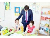 Kızılay'dan özel eğitim sınıfına malzeme desteği