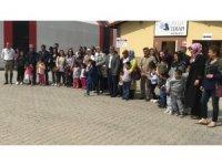 Engelli çocukların 23 Nisan'ı kutlandı