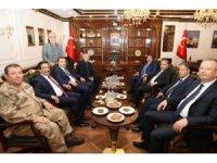 Valilerden Başkan Atilla'ya ziyaret