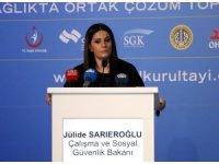 """Bakan Sarıeroğlu: """"7,5 milyon vatandaşımızın GSS primini devlet olarak biz karşılıyoruz"""""""