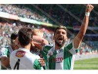 Spor Toto Süper Lig: Atiker Konyaspor: 1 - Kasımpaşa: 0 (İlk yarı)