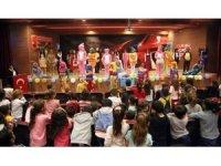 Silopi'de liseli kız öğrencilerden, minikleri sevindiren etkinlik