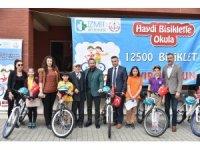 İzmit'te 188 öğrenci daha bisikletlerine kavuştu