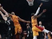Galatasaray Odeabank, Beşiktaş Sompo Japan'ı 77-73 yendi