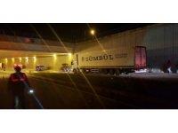 Edirne'de zincirleme trafik kazası: 1 yaralı