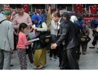 Atatürk Havalimanı'nda çocuklara 23 Nisan sürprizi