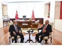 Kılıçdaroğlu, SP Genel Başkanı Karamollaoğlu ile görüştü