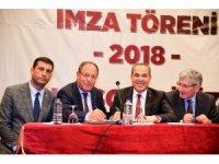 Adana Büyükşehir Belediyesi'nde toplu sözleşme imzalandı