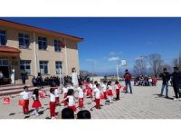 Ölüçülü Köyü okulunda 23 Nisan kutlaması