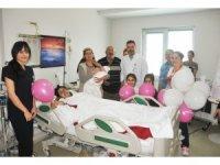 Bayramı hastanede kutladılar