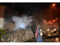 Suşehri'nde ev yangını