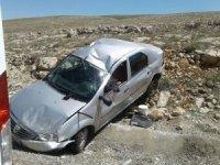 Gürün'de trafik kazası 2 yaralı