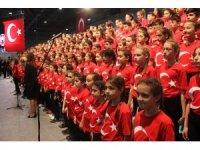 41 ülkeden 1000 çocuk 23 Nisan coşkusunu Kocaeli'de yaşadı