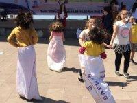 BEÜ öğrencilerinden çocuk şenliği etkinliği