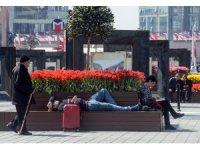 İstanbul'da Nisan ayında denize girdiler