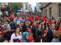 Giresun'da 2 bin çocukla 23 Nisan korteji
