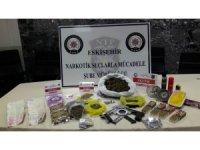 Eskişehir'de uyuşturucu operasyonu: 10 gözaltı