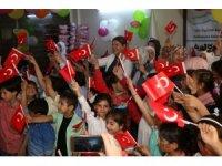 Suriyeli çocuklar 23 Nisan'ı kutladı