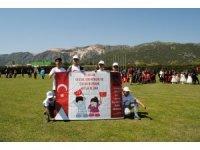 Isparta'da 23 Nisan kutlamaları