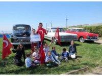 İstanbul Klasik Otomobilciler Derneği'nden 23 Nisan konvoyu