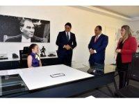 Başkan Serkan Acar, kardeş şehir heyetini ağırladı