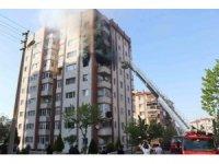 Kütahya'da yangın: 1'i ağır 4 yaralı