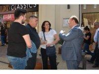 Başkan Özakcan'dan Forum AVM ziyareti