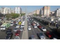 İstanbul'da sürücülere sabah trafiği şoku