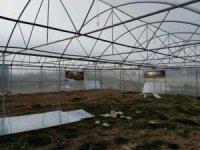 Çavdarhisar Tarım Meslek Lisesi bahçesine modern sera