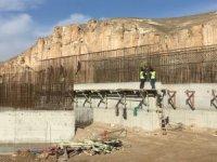 Ilısu Barajı'nda anıt eserlerin taşınması devam ediyor