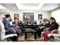 Başkan Akgül'e özel ziyaret