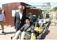 Gebzeli çocuklar, 23 Nisan'ı Aksiyon Parkı'nda kutladı