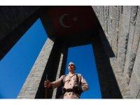 Çanakkale Kara Savaşları'nın 103. yıldönümü kutlanıyor