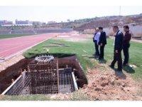 2 bin 400 kişilik tribün inşaatı başladı