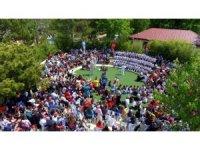 Kırşehir Belediyesi tarafından düzenlenen 4.Geleneksel Çocuk Şenliğine yoğun ilgi