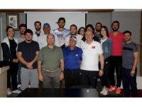 MSKÜ Spor Bilimleri Fakültesi öğrencilerine tenis semineri