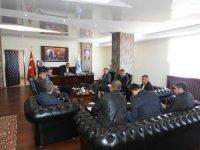 Başkan Bedirhanoğlu, Şırnak'ı yeniden inşa eden firmalarla bir araya geldi