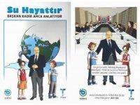 TESKİ'den öğrencilere 'Su Tasarrufu' kitapçığı