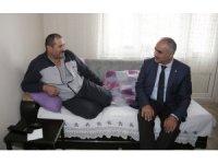 Başkan Aydın, hastaları unutmuyor