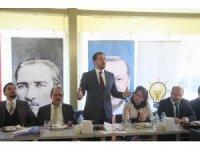 """AK Parti'li Yüksel: """"Tekirdağ'ın kaderini 7 vekille değiştirelim"""""""
