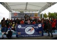 'UCI Dağ Bisikleti Avrupa Şampiyonası' yarışları Konya'da yapıldı