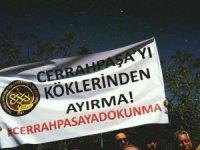 Cerrahpaşa Tıp'ta bölünme protestosu