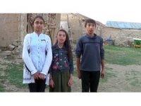 Köylü çocuklar kendi imkanlarıyla kısa film çekti